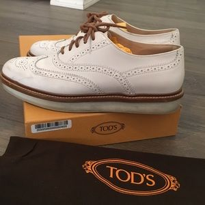 4946af056b Tod's Shoes | Tods Laced Brogues With Platform Oxford | Poshmark